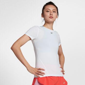 Nike Pro SS Mesh női póló Nők fehér