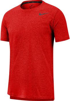 Nike BreatheShort-Sleeve Training Top Férfiak rózsaszín