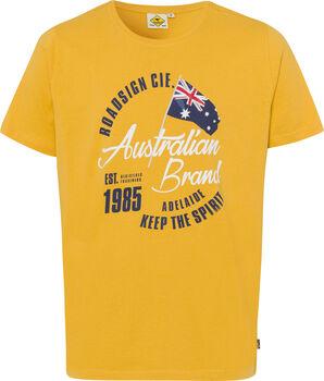 Roadsign  Logo Australianférfi póló Férfiak sárga