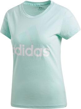 ADIDAS Essentials Linear Slim Tee női póló Nők zöld