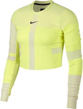 Nike Run Tech Pack Knit női hosszú ujjú futófelső Nők sárga