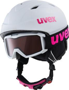 Uvex Airwing 2 pro gyerek sísisak szemüveggel fehér