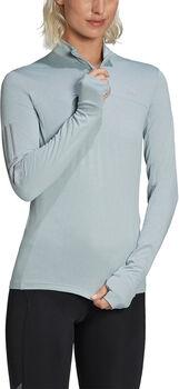 adidas  OTR 1/2 ZIP Wnői hosszúujjú futópóló Nők szürke