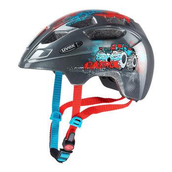 Uvex Finale Junior kerékpáros sisak szürke