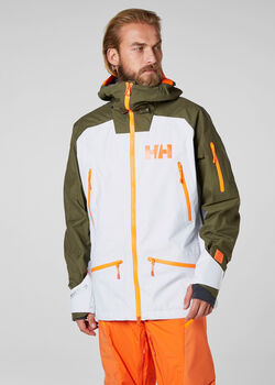 HELLY HANSEN Ridge Shell Férfiak zöld