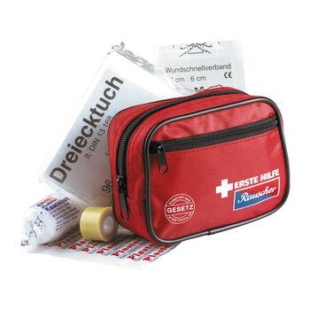 Rauscher 1.segély táska piros