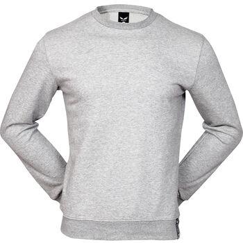 2RULE Kereknyakú pulóver Férfiak szürke