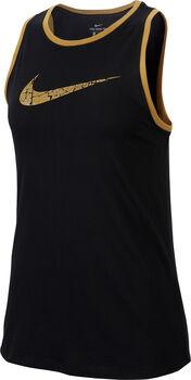 Nike Dri-FIT Glam női ujjatlan felső Nők fekete