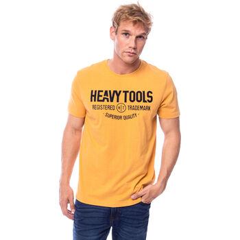 Heavy Tools Molin férfi póló Férfiak sárga