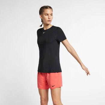 Nike Pro SS Mesh női póló Nők fekete
