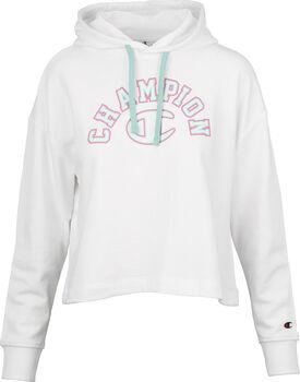Champion  Hooded Sweatshirtnői kapucnis felső Nők fehér