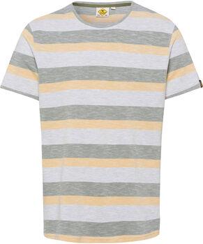 Roadsign Open Air Stripes férfi póló Férfiak barna