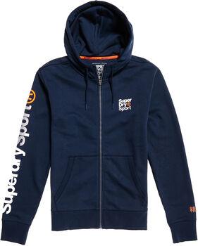 Superdry Core Sport FZ férfi kapucnis felső Nők kék