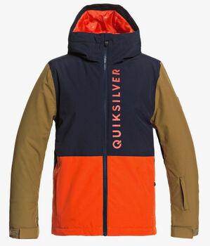 Quiksilver  Side Hit YouthKd. SB-Jacke mit Kapuze narancssárga