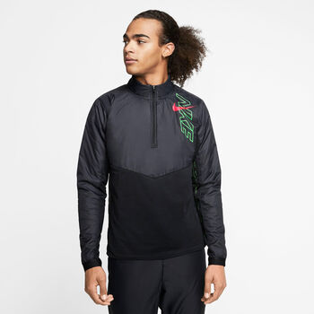Nike Element Track Top férfi futófelső Férfiak fekete