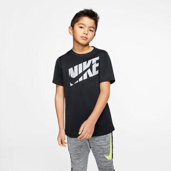 NIKE Fiú-T-shirt B NK HBR+ fekete