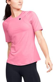 Under Armour Rush női póló Nők rózsaszín