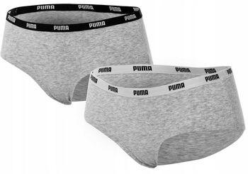 Puma  Iconic Hipster 2 Packnői alsó Nők szürke