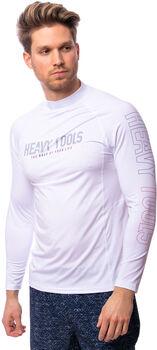 Heavy Tools Answer20 férfi hosszú ujjú lycra póló Férfiak fehér