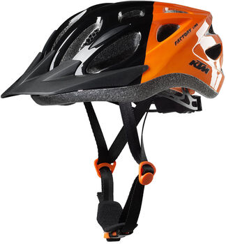 KTM Gy.-Kerékpár sisak fekete