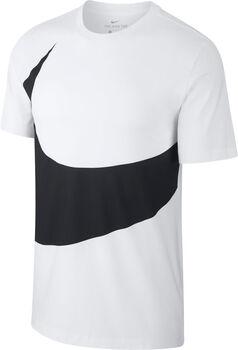 Nike Nsw Swoosh férfi póló Férfiak törtfehér