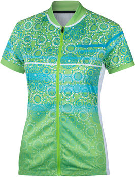 NAKAMURA Canberra női kerékpáros mez Nők zöld
