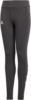 ADIDAS YG Essentials Linear Tight lány nadrág szürke