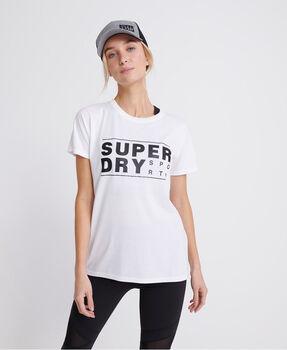 Superdry Core Sport Graphic női póló Nők fehér