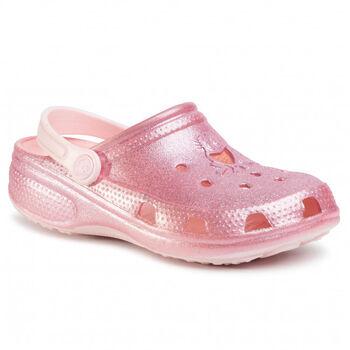 Coqui  Lány-FürdőszandálBIG FROG PRINTED-CHILD rózsaszín