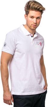 Heavy Tools Damzy férfi galléros póló Férfiak fehér