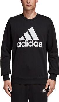 adidas Must Have Badge Of Sport férfi pulóver Férfiak fekete