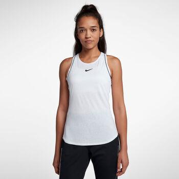 Nike ct Dry Tank női tenisz top Nők fehér