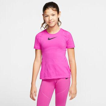 Nike G NP TOP gyerek fitnesz póló Lány piros