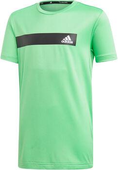 adidas YB TR COOL TEE Fiú zöld