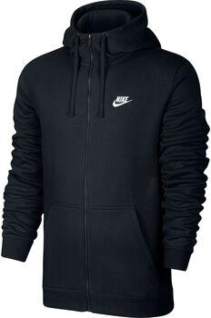 Nike M Nsw Hoodie FZ férfi kapucnis felső Férfiak fekete