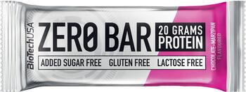BioTech USA Zero Bar fehérjeszelet 50g barna