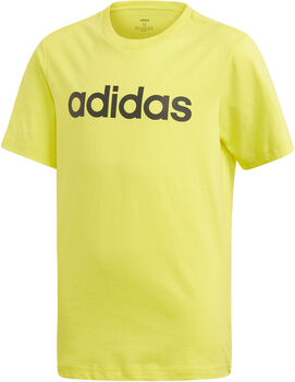 adidas Y E LIN fiú póló sárga