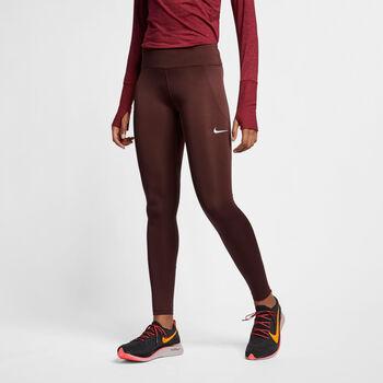 Nike Fast Tights női futónadrág Nők barna