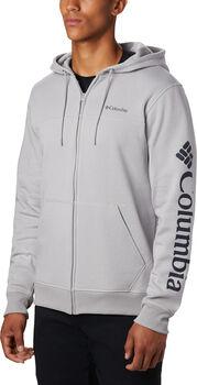 Columbia M Logo FZ Fleece férfi kapucnis felső Férfiak szürke