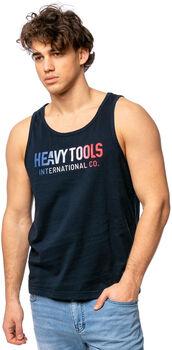 Heavy Tools Bruno férfi felső Férfiak kék