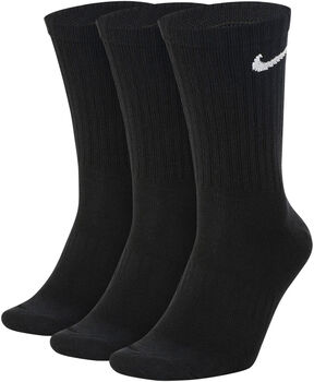 Nike Everyday Lightweight Crew sportzokni (3pár) fekete