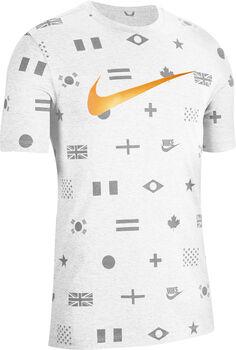 Nike Preheat AOP férfi póló Férfiak fehér
