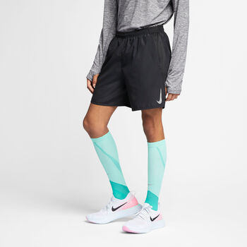 "Nike Challenger7"" Lined Running Shorts futó rövidnadrág Férfiak fekete"