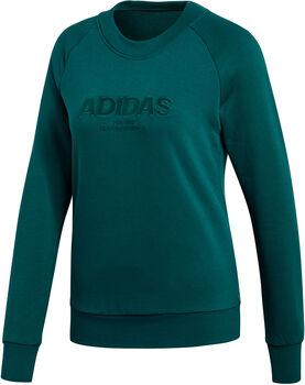 ADIDAS Essentials ALLCAP Swteatshirt női felső Nők zöld