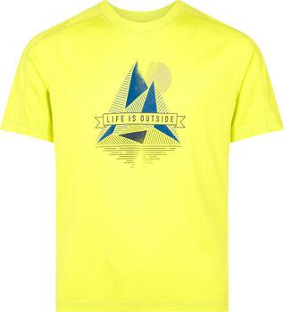 McKINLEY Fiú-T-shirt Cora sárga