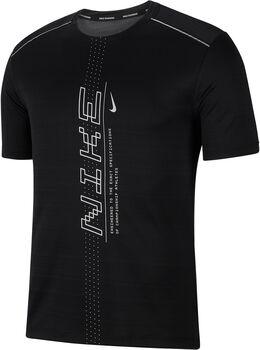Nike Dri-FIT Miler PO férfi póló Férfiak fekete