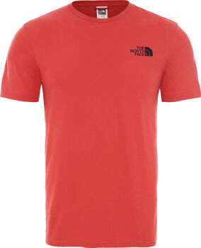 The North Face Berard férfi póló Férfiak piros
