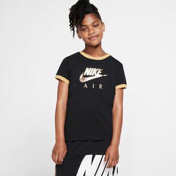Nike T-shirt G NSW lány póló fekete