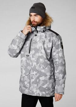 Helly Hansen Svalbard férfi kabát Férfiak szürke
