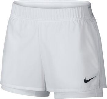 Nike Court Flex Tennis Shorts Nők fehér